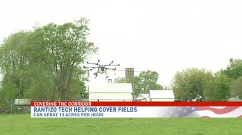 CBS2/Fox28: Iowa City company offering drones to make farming more efficient