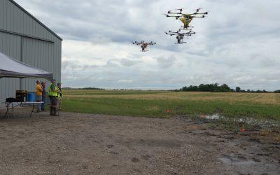 Farm Progress: Maximizing drone coverage with a swarm