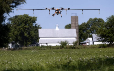 The Gazette: Drones used for deliveries, agriculture and claims inspections after Cedar Rapids derecho storm