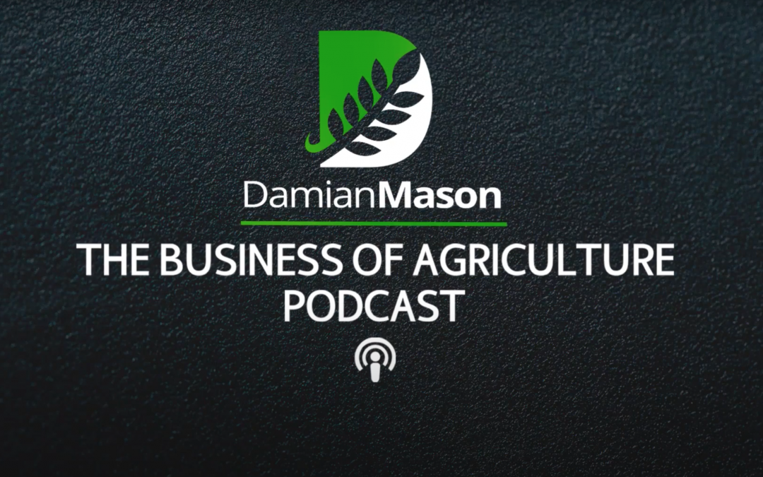 Rantizo was a guest on The Business of Agriculture Podcast with Damian Mason