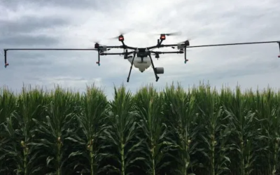 "The Van Trump Report: Rantizo brings ""Spraying Drone Swarm"" to fields near you"