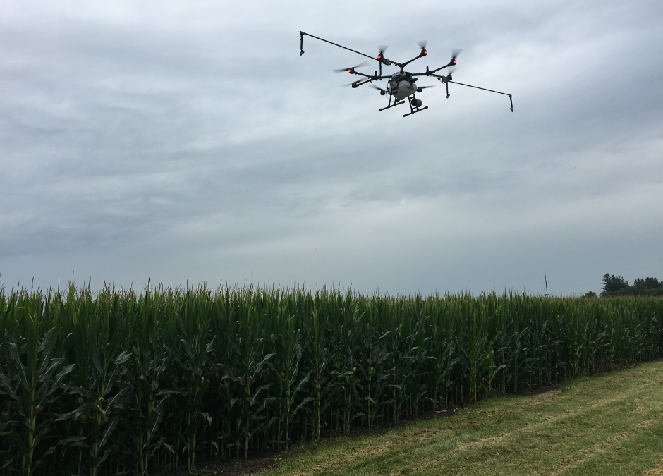 How does Remote ID affect agricultural drone spraying
